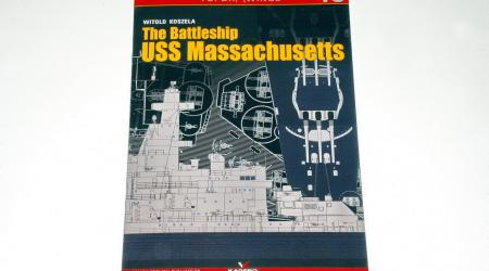 """Kagero Publishing continue to release many interesting books in their highly successful and popular """"TopDrawings"""" series. These books provide scale drawings, as well as large colour plates/profiles, and are great looking reference books for modelers at an affordable price. Number 46 in this series is about the famous american battleship USS Massachusetts of WW2. This 32 page, A4 size, soft cover book provides pages of excellent 1/200 & 1/400 scale plans, plus many details of the ship not to scale, by Witold"""