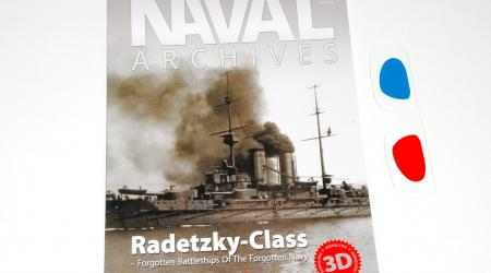 NAVAL ARCHIVES Vol.09, Radetzky-Class (Kagero 2018)