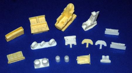 Ted's HAF resin sets 1/48 (F-5, EXOCET, SCALP, MICA & more...)
