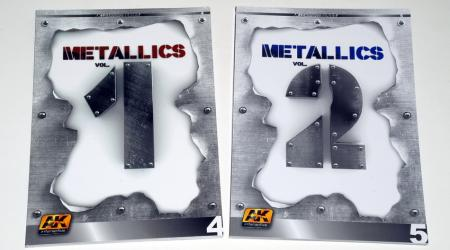 """""""Metallics"""" - Learning series 4 & 5 - Vol I & II, from AK Interactive"""