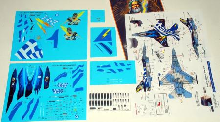 "PROCAL Decals by Orestis Petroutsopoulos (F-16C Block 52+ ""ZEUS"" Demo Team/HAF)"